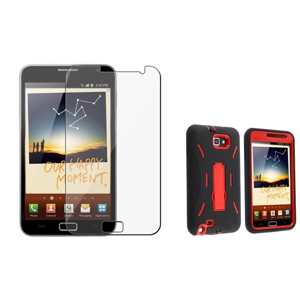 INSTEN Hybrid Phone Case Cover/ Screen Protector for Samsung Galaxy Note N7000