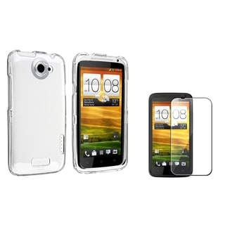BasAcc Crystal Case/ Screen Protector for HTC One X