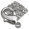 BasAcc 12-mm Silver Lobster Clasps (Pack of 1000)