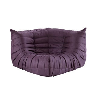 Waverunner Modular Purple Sectional Corner