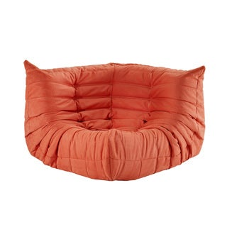 Waverunner Modular Orange Sectional Corner