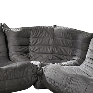 Waverunner Modular Light Grey Sectional Corner