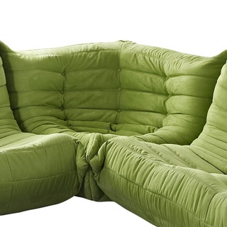 Waverunner Modular Green Sectional Corner