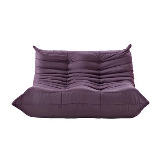 Waverunner Modular Purple Sectional Loveseat