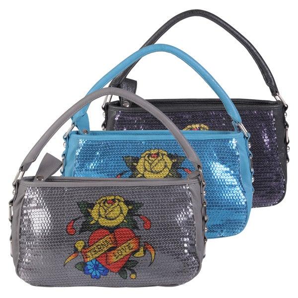 Ed Hardy Women's Eternal Love Aggnes Shoulder Bag