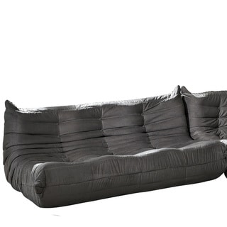 Waverunner Modular Light Grey Sectional Sofa