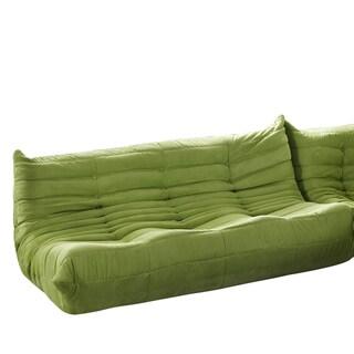 Waverunner Modular Green Sectional Sofa