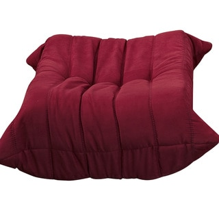 Waverunner Modular Red Sectional Ottoman
