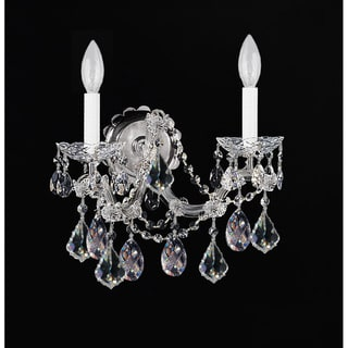 Chrome Finish 2-light Wall Sconce