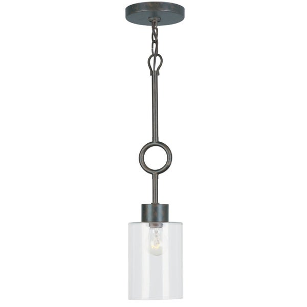 Odette 1-light Mini Pendant in English Bronze