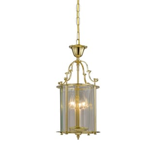 Camden 3-light Pendant in Polished Brass