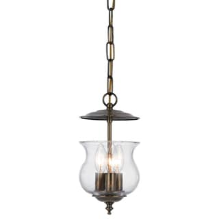 Ascott 3-light Pendant in Antique Brass