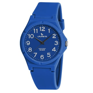 Laurens Italian Design Children's Blue Rubber Analog Watch