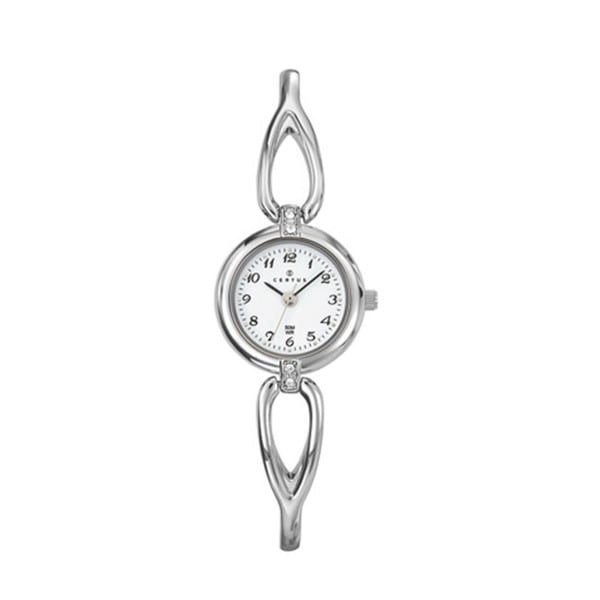 Certus Paris Women's Brass Crystal Watch