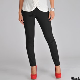 Focus 2000 Women's Pull-On Ponte Skinny Pant