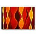 Kathie McCurdy 'Flame Larger' Canvas Art