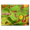 Kathie McCurdy 'Neon Cactus Liquid' Canvas Art