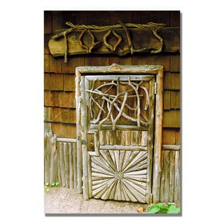 Kathie McCurdy 'Tool Shed' Canvas Art