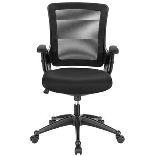 Mesh Black Padded Seat Office Chair