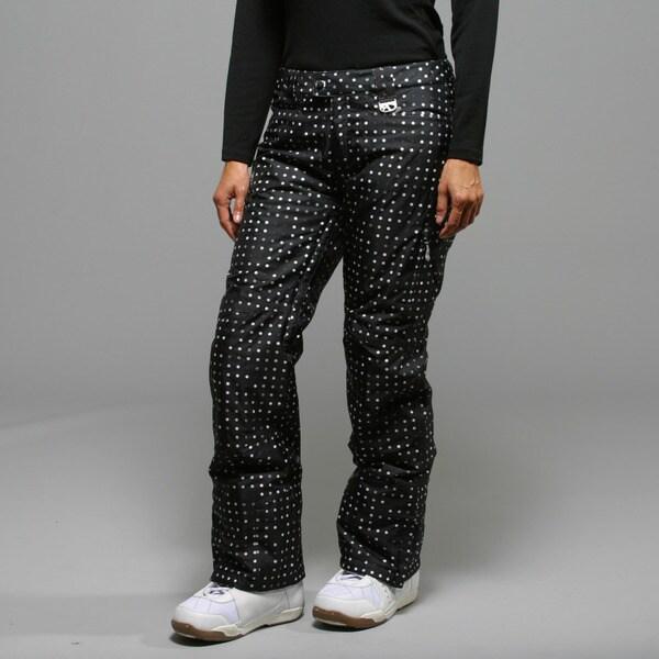 Marker Women's 'Morning Star' Black Insulated Ski Pants