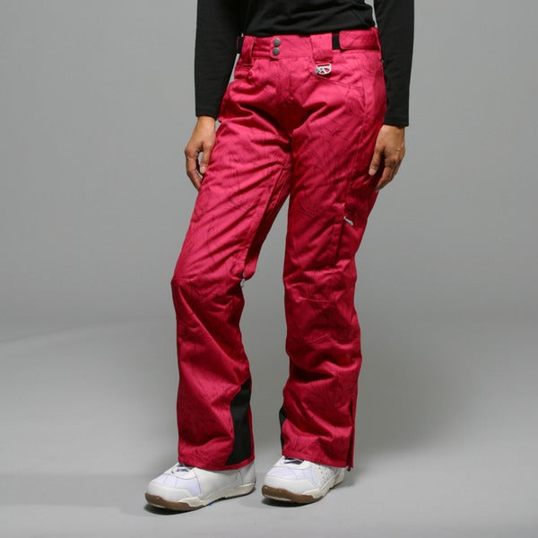 Marker Women's 'Inspiration' Pink Insulated Ski Pants
