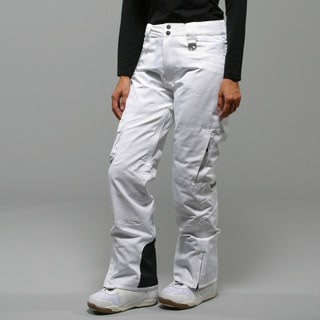 Marker Women's 'Flair' White Insulated Ski Pants