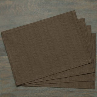Chocolate Textured Placemat (Set of 4)