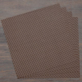 Chocolate Contemporary Woven Placemat (Set of 4)