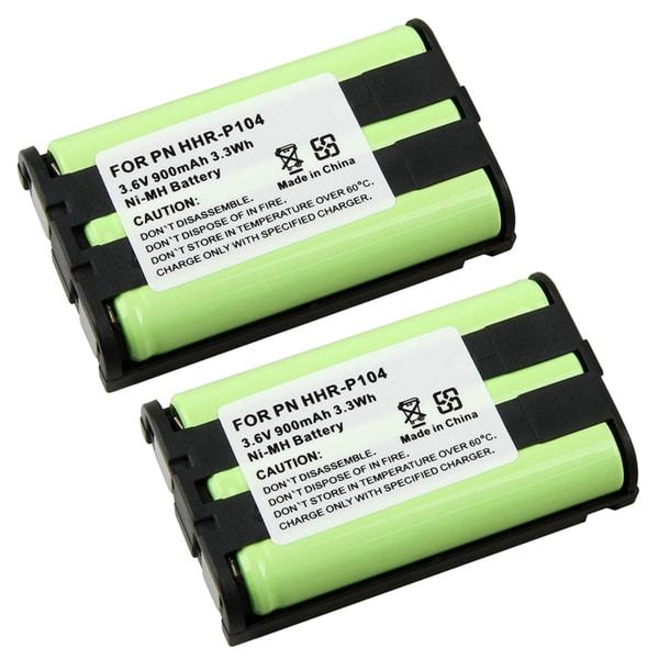 INSTEN Battery for Panasonic HHR-P104 (Pack of 2)