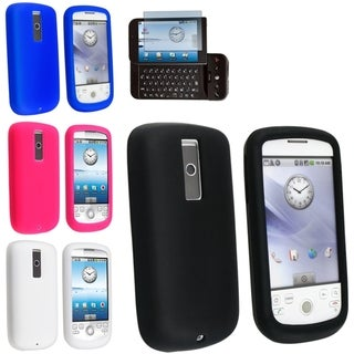 BasAcc Silicone Case Set/ Screen Protector for HTC MyTouch 3G