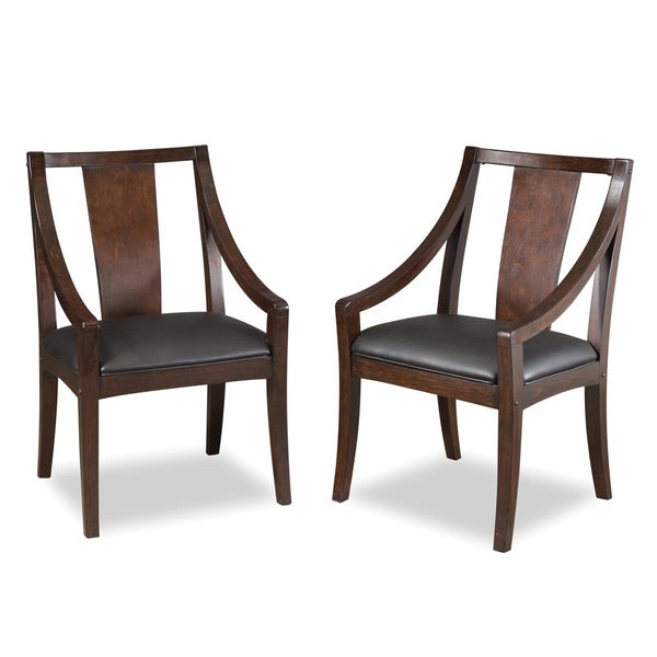 Rio Vista Game Table Chair in Espresso (Pack of 2)