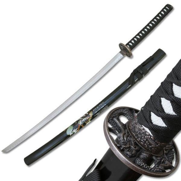 Master Cutlery Samurai Katana with Samurai Design Scabbard