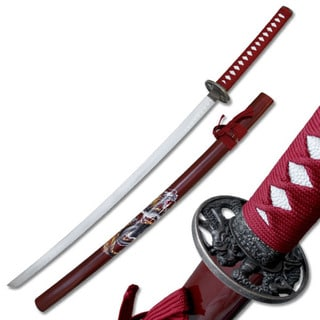 Master Cutlery Samurai Katana with Dragon Scabbard