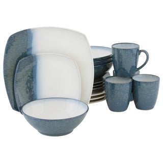 Sango Blue Metallics 16-piece Dinnerware Set