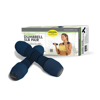 PurAthletics 5-pound Dumbbell Set