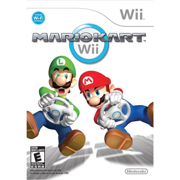 Wii - Mario Kart Wii 9672645