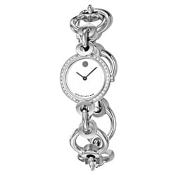 Movado Women's 'Circo' Stainless Steel Swiss Quartz Watch