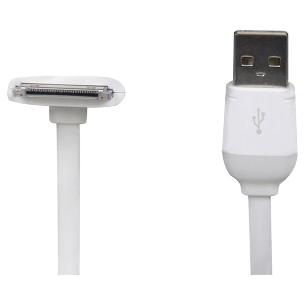 The Joy Factory DuraLink 90° Apple 30-Pin to USB Cable (10 ft)