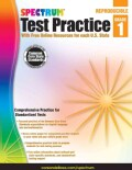 Spectrum Test Practice, Grade 1: With Free Online Resources for each U.S. State (Paperback)
