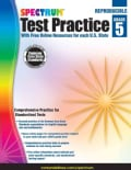 Spectrum Test Practice, Grade 5: With Free Online Resources for Each U.s. State (Paperback)