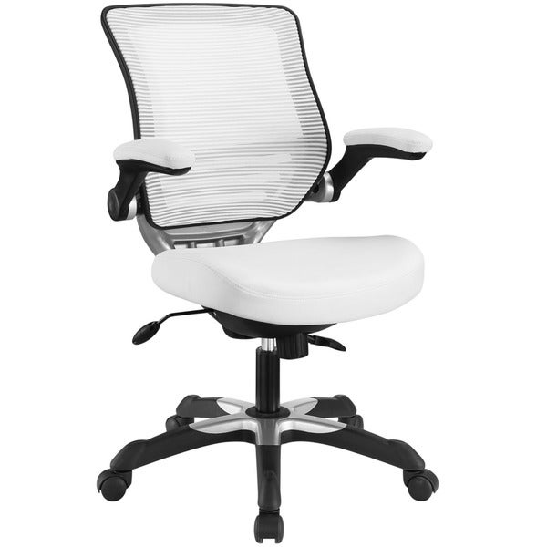 Expedition Mesh/ Black Leatherette Office Chair