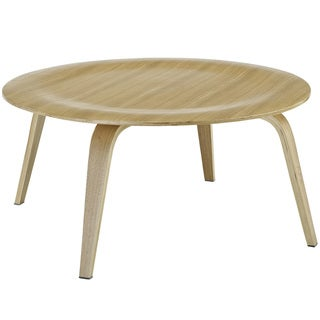 Molded Natural Plywood Coffee Table