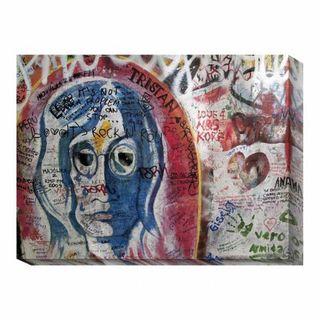 'Graffiti Prague I' Canvas Art Print