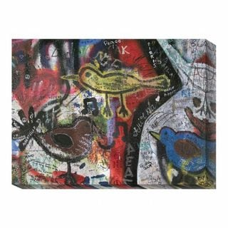 'Graffiti Prague V' Canvas Art Print
