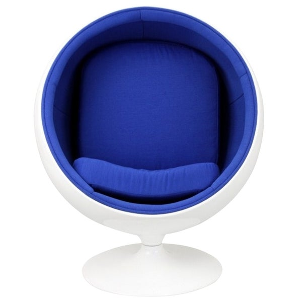 Eero Aarnio Style Kids Ball Chair in Blue