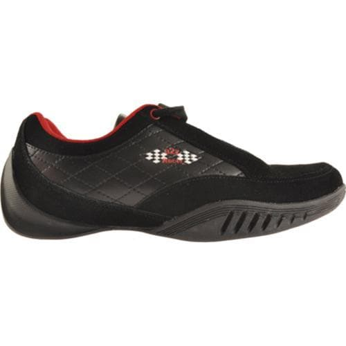 Men's A2Z Racer Gear Monza Driving Shoe Black/Red