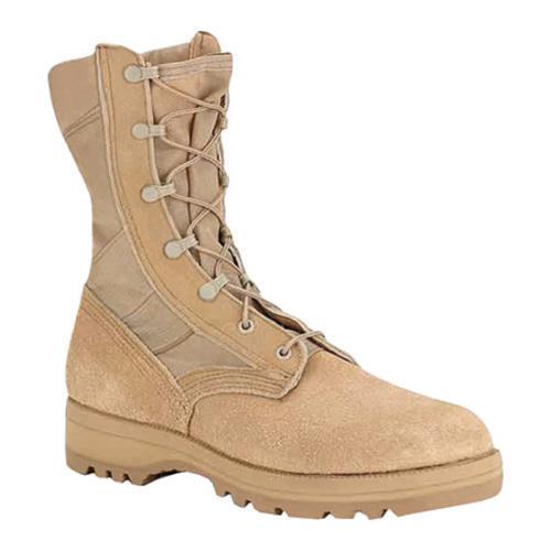 Men's Altama Footwear 3 LC Tan Desert Military Specification Boot Cordura/Tan Suede