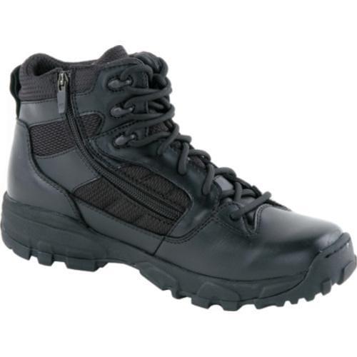 Men's Altama Footwear 6in Sidezip LITESpeed Black Leather/Air Mesh