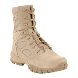 Men's Altama Footwear 8in Desert Ortho-TacX Tan Desert Super Fabric/Suede