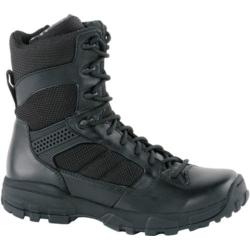 Men's Altama Footwear 8in LITESpeed Black Leather/Air Mesh